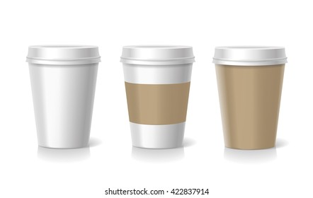 Takeaway coffee cup illustration