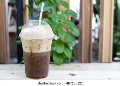 Takeaway ice coffee