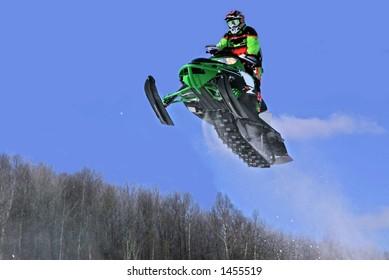 taken at elliot lake snowmobile races