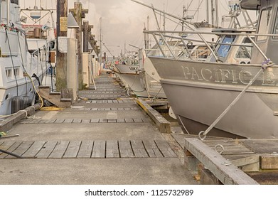 Taken at Fisherman's Wharf at Steveston, Richmond, BC, Canada on May 19th, 2018. Where you can buy the catch of the day at some of the commercial fishing boats. Great view of the river too!