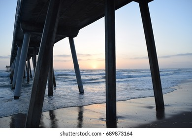 Taken at hermosa beach pier