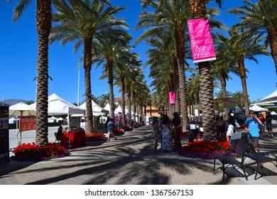 Taken at the Indian Wells Art Festival in Indian Wells California, USA March 31st 2019 around 1:00pm A group of artist booths