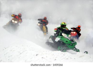 taken at kirkland lake snowmobile races