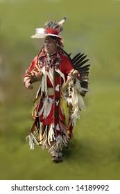 taken at a native pow wow