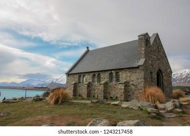 Takepo Lake New Zealand