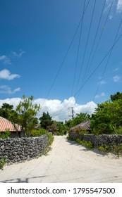 Taketomi Town, Taketomi Island, Okinawa Prefecture