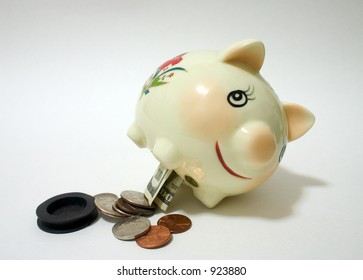 Taking Money out of the Piggy Bank