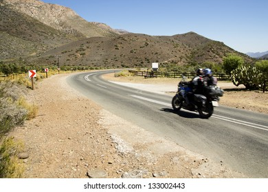 Taking to the open road on a bike