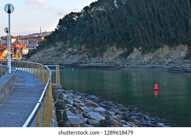 Taking a walk along the sea side