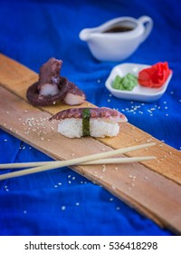 The tako Nigiri