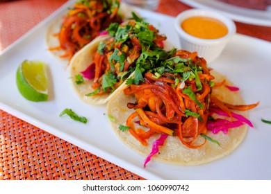Takos de Pollo Mexican Shredded Chicken Takos
