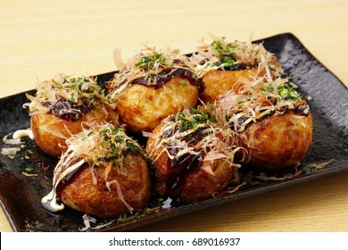 Takoyaki, Japanese food,