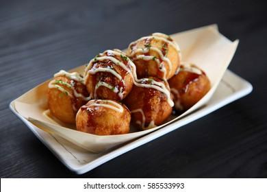 TAKOYAKI Japanese octopus balls
