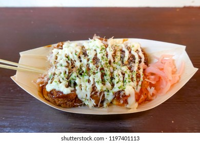 takoyaki, octopus balls, japanese food