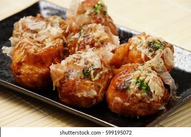 Takoyaki; octopus balls; japanese food