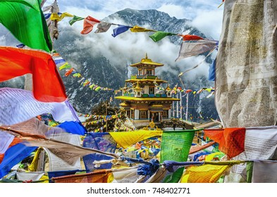 Taktsang Monastery is a prominent Tibetan Buddhist sacred site and temple complex, located on the cliffside of the Tawang District in the Indian state of Arunachal Pradesh,