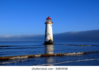 Talacre Lighthouse in North Wales