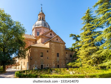 TALAVERA DE LA REINA, SPAIN - SEPTEMBER 28, 2019: Church Nuestra Se?ora del Prado in Talavera de la Reina, Toledo, Spain