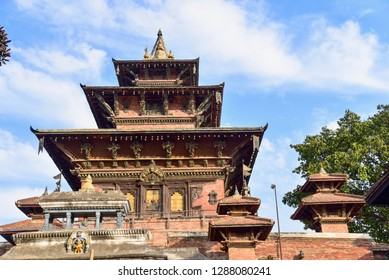Taleju Temple in Hanuman Dhoka at Kathmandu Durbur Square in Nepal