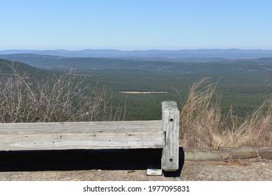 Talimena Byway, between Mena Arkansas and Talihina Oklahoma - Shutterstock ID 1977095831