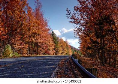 """""""Talimena Scenic Byway in the Fall"""""""