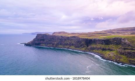 Talisker Bay in Scotland (Isle of Skye)