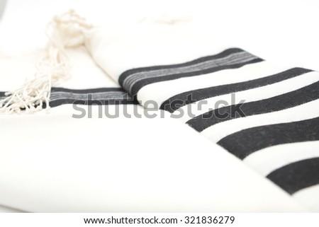 Talit Prayer Shawl Tallit Jewish Religious Stock Photo (Edit
