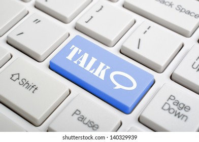 Talk on keyboard