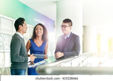 Talking business partners