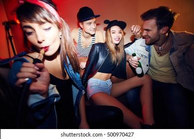 Talking to guys