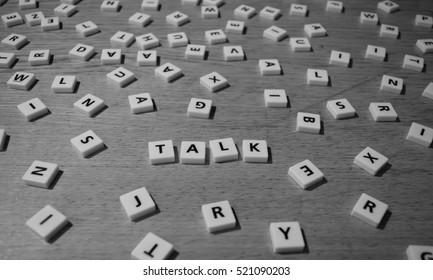 Talking letters