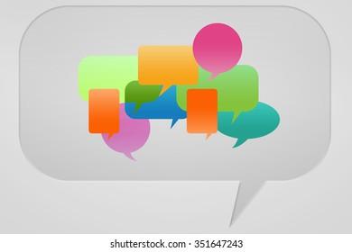 Talking Symbol - Speech Bubbles