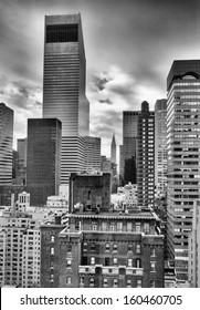 Tall buildings of New York.