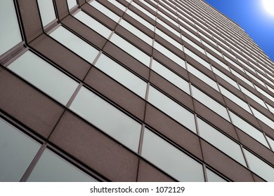 Tall business building