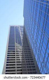 Tall Office Building in New York City, NY, USA