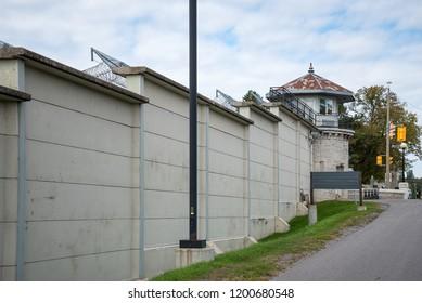 Tall Prison Wall