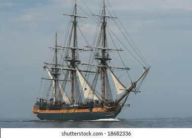 Tall Ship off Pt. Loma in San Diego