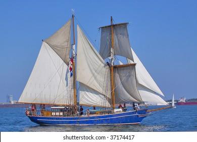 tall ship sail