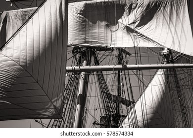 Tall ships in southern California.