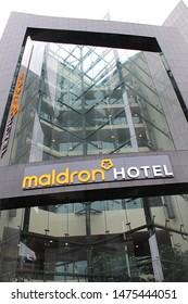 Tallaght, Dublin, Ireland, 09.08.2019. Maldron Hotel.