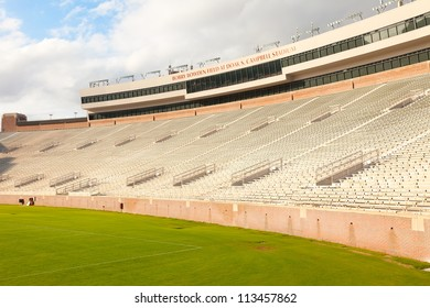 TALLAHASSEE, FL - AUG. 8:  Doak Campbell Stadium, home of the Florida State Seminoles, has a seating capacity of 82,300, making it the largest football stadium in the ACC division,on August 8, 2011.