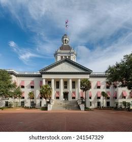 TALLAHASSEE, FLORIDA - DECEMBER 5: Old Florida State Capitol building on December 5, 2014 in Tallahassee, Florida