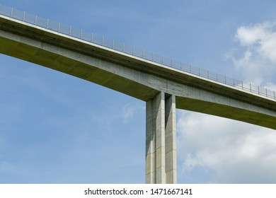 The tallest bridge in Slovakia located on D3 motorway between Svrcinovec and Skalite in Slovakia