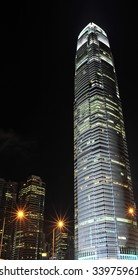 The tallest building in Hong Kong