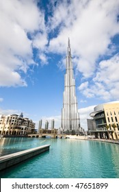 The tallest building in the world amongst others