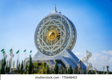 World's tallest ferris wheel at Alem Cultural and Entertainment Center, Ashgabat, Turkmenistan.