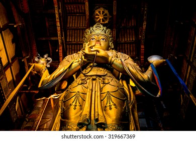 Tallest indoor statue in the world
