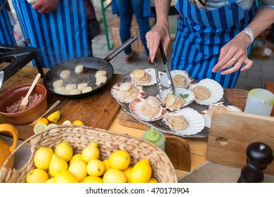 TALLINN, ESTONIA - JUNE 18, 2016: Street food Festival.