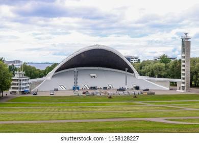 TALLINN, ESTONIA - Tallinn Song Festival Grounds