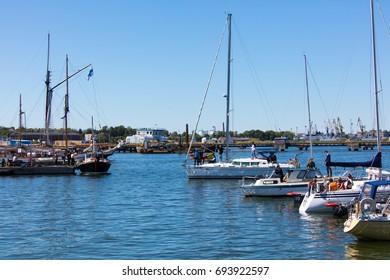 Tallinn Maritime Days 15-18 July 2017. Tallinn Maritime Days in harbour of Tallinn: Seaplane harbour